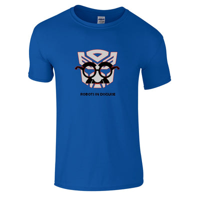 Mens T-Shirts - Transformers Robots In Disguise T-Shirt