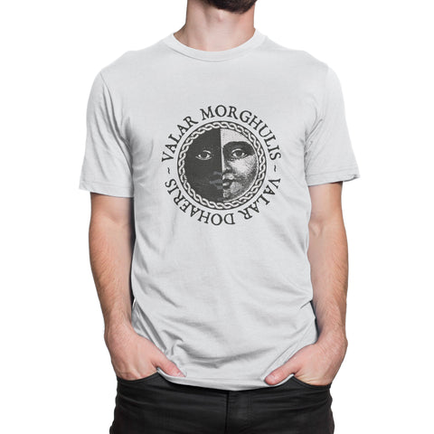 Valar Morghulis Valar Dohaeris T-Shirt-Hero Gear