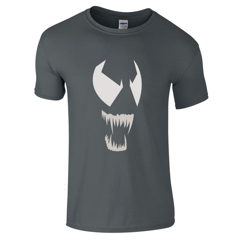 Mens T-Shirts - Venom Face 2 T-Shirt