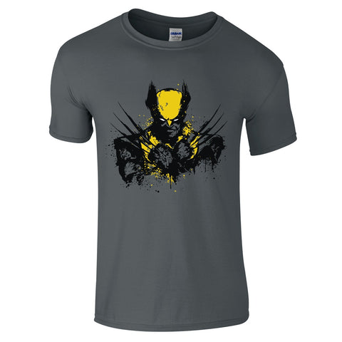 Mens T-Shirts - Wolverine Splash T-Shirt