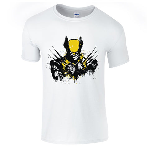 Wolverine Splash T-Shirt-Hero Gear