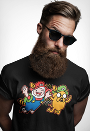 Adventure Time Mario & Luigi T-Shirt