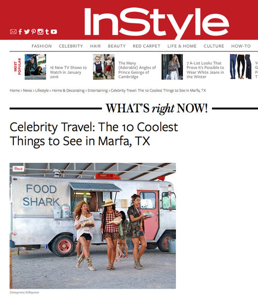 InStyle: Marfa Top 10