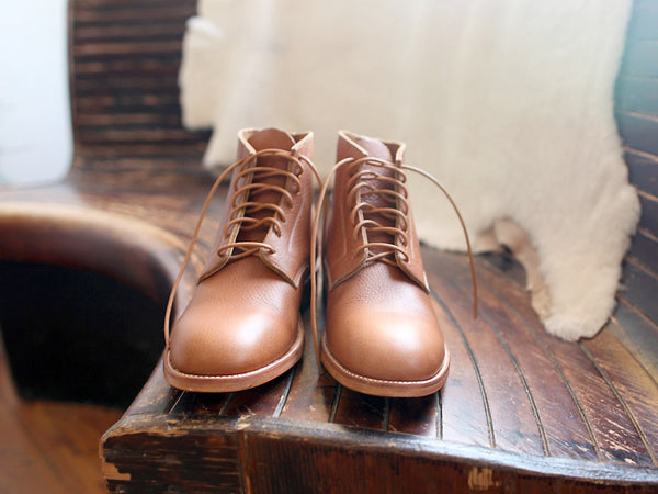 Chisos Boots in Smooth Lager