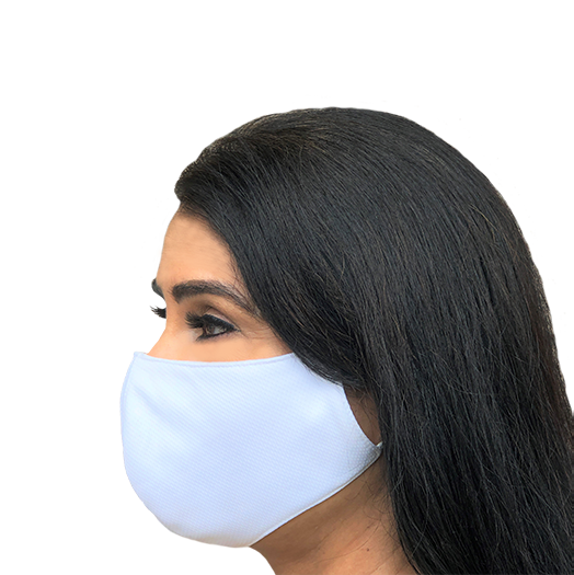 COOLLEX Anti-Bacterial 3 ply Fabric Face Mask - WASHABLE-REUSABLE