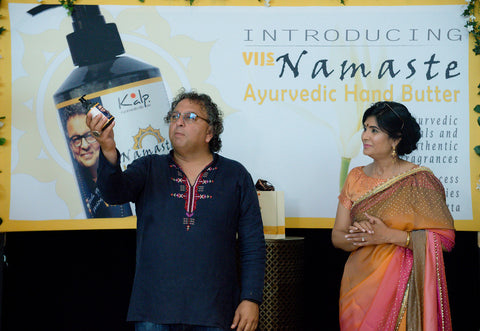 Vikram Viz's Hand Butter Launch Event