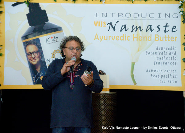 Vikram Vij's favorite Hand Butter (hand lotion, cream, body cream) Namaste by Kalp Ottawa