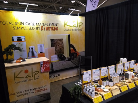 Kalp Ayurvedically Pure At GreenLiving Show, Toronto (Apr 6-8 2018)