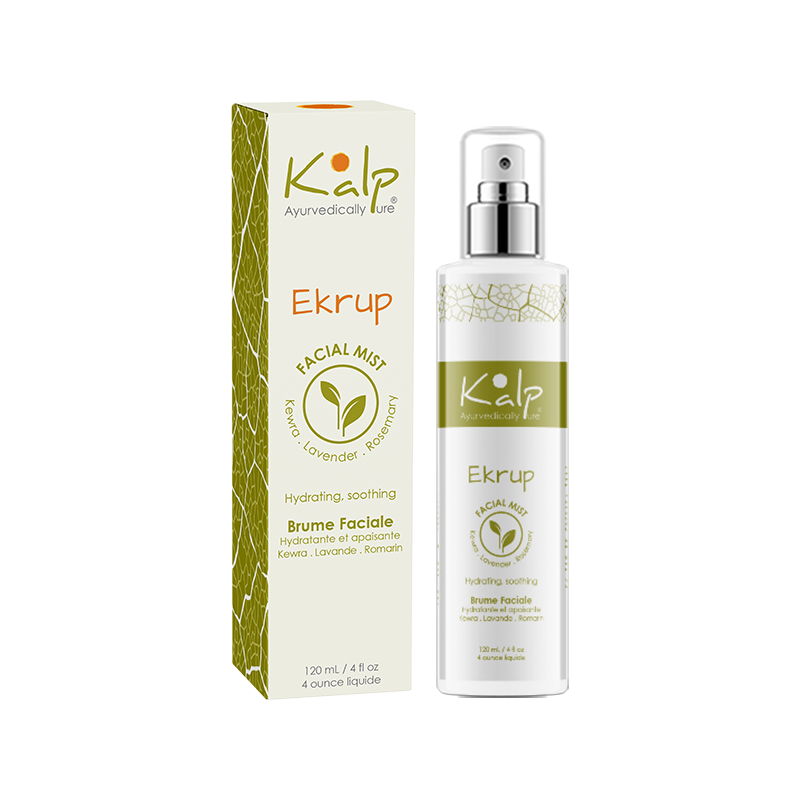 Ekrup - Facial Mist - Kalp ayurveda made in Canada