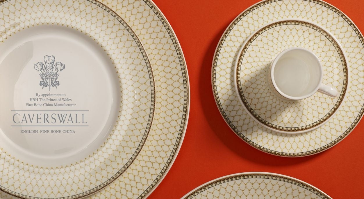 caversall english fine bone china premium