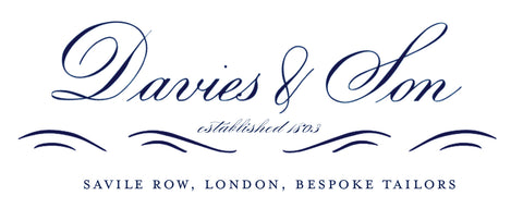 davies & con savile row bespoke suits