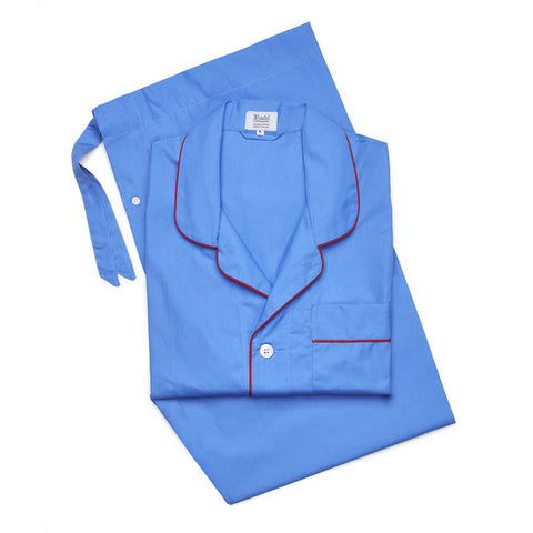 mens pajamas cotton poplin premium