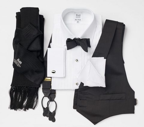 black tie accessories