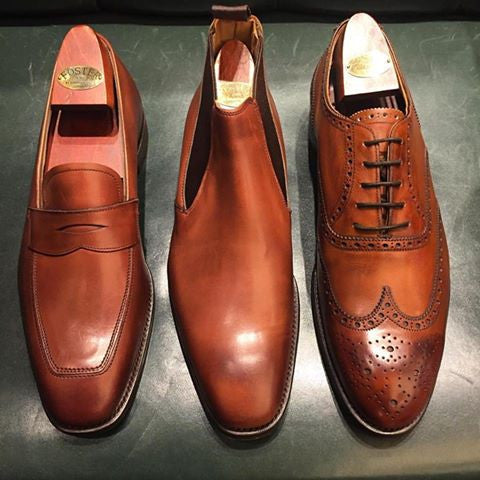 bespoke shoes sterling and burke made in england