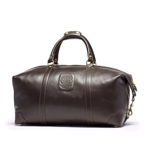 luxury leather duffle