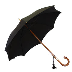 english ladies umbrella solid wood shaft maple