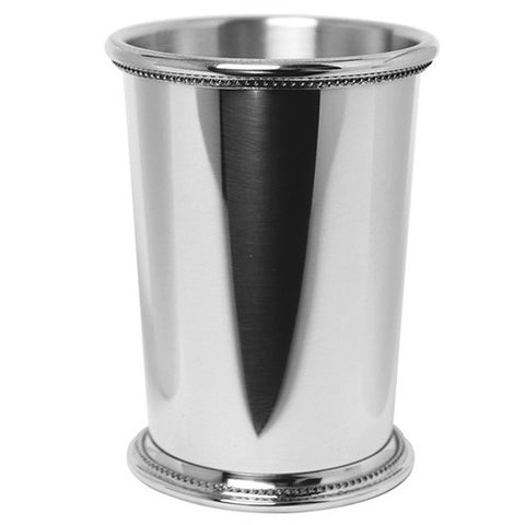 Julep Cup | Mississippi Julep Cup | 12 OZ | Solid Pewter | Made in USA | Sterling and Burke