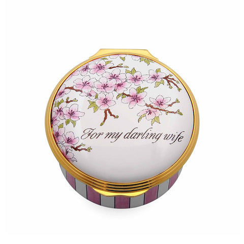 "Enamel Box | ""For My Darling Wife"" Box 