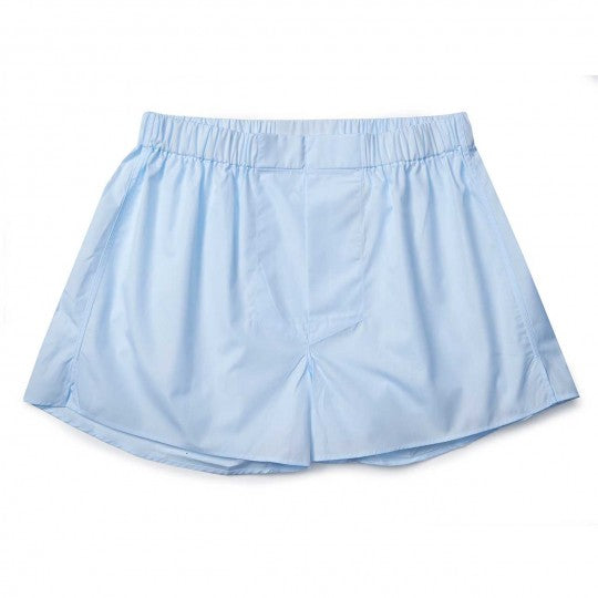 Murphy Superior Cotton Chairman Boxer Shorts | Sky Blue | Budd Cotton Boxers-Boxer-Sterling-and-Burke