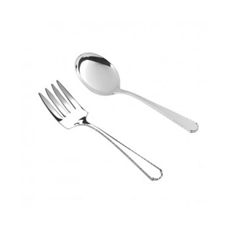 Sterling Silver | Virginia Sterling Baby Fork and Spoon Set | Salisbury Pewter | Engraved | Made in USA