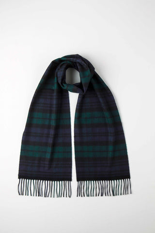 Lambswool Scarf, Blackwatch Tartan