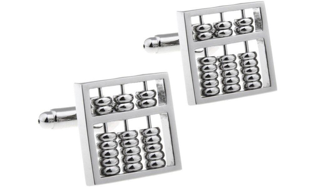 Abacus Cufflinks-Cufflinks-Sterling-and-Burke