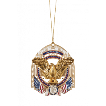 Official 2017 White House Christmas Ornament | Sterling and Burke-Christmas Ornament-Sterling-and-Burke