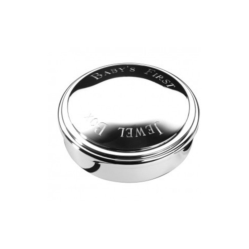 "Sterling Silver | First Jewel Box | 3"" Diameter 