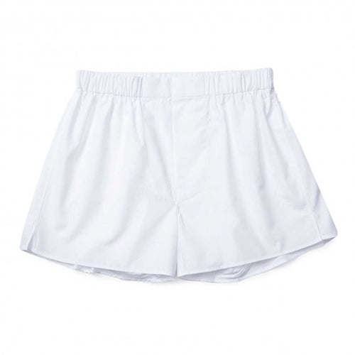 Budd Cotton Chairman Boxer Shorts in White-Boxer Shorts-Sterling-and-Burke
