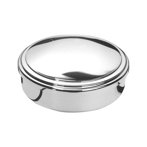 "Sterling Silver | Lindsey Jewel Box | 3"" Diameter 