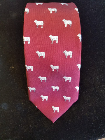 Black Sheep Tie | Silk Tie | Budd Shirtmakers | Made in England