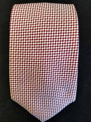Baby Diced Bi-Colored Woven Tie | Multiple Colors | Budd Shirtmakers | Made in England-Necktie-Sterling-and-Burke