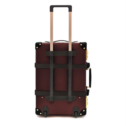 "Globe-Trotter Centenary 20"" Trolley Suitcase in Oxblood-Suitcase-Sterling-and-Burke"