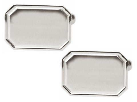 Engravable Cufflinks | Silver | Sterling and Burke-Cufflinks-Sterling-and-Burke