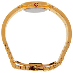 Agama Sparkle Bangle Strap Watch, Red and Gold | Halcyon Days | Made in England-Ladies Watch-Sterling-and-Burke