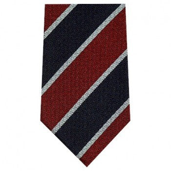 King's College Hospital Silk Tie-Necktie-Sterling-and-Burke