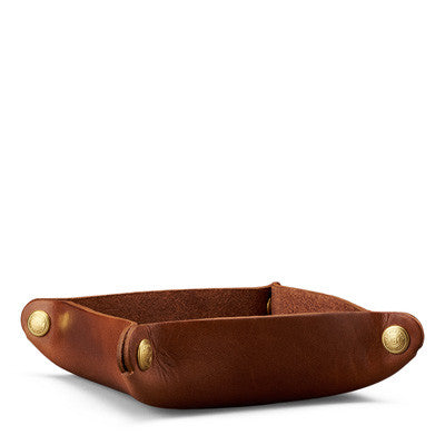 Valet Tray, American Heritage Leather