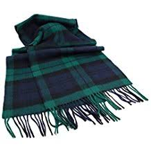 Thick Wool Blanket | Antique Tartan | 60 by 72 inches | Made in Scotland | Sterling and Burke-Blanket-Sterling-and-Burke