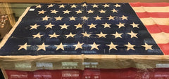 "45 Star American Flag #2 | 38.5"" x 64""-Vintage Flag-Sterling-and-Burke"