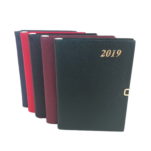 Year 2019 Diary, 4 by 2 | Crossgrain | Pencil & Clasp | D742LJC
