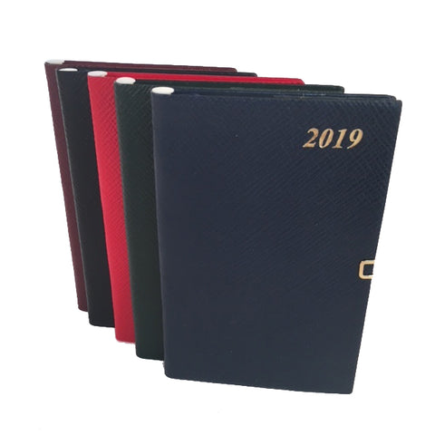 Year 2019 Diary, 5 by 3 | Crossgrain | Pencil & Clasp | D753LJC