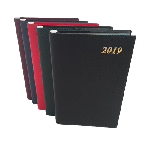 Year 2019 Diary, 5 by 3 | Crossgrain | Pencil in Spine | D753LJ