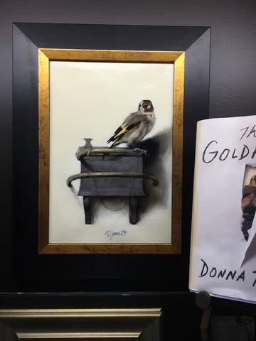 Gold Finch-Oil Painting-Sterling-and-Burke