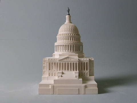 Architectural Sculpture | Capitol Building | Washington, DC | Custom Model | Extraordinary Quality and Detail | Made in England | Timothy Richards