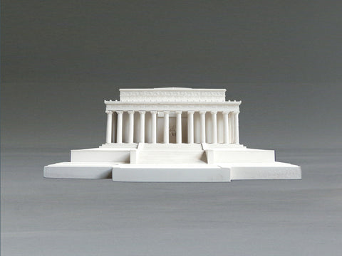 Lincoln Memorial Sculpture | Custom Lincoln Memorial Plaster Model | Extraordinary Quality and Detail | Made in England | Timothy Richards