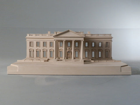 Architectural Sculpture | White House | Washington, DC | Custom Model | Extraordinary Quality Detail | Made in England | Timothy Richards