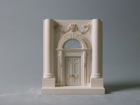 White House Architectural Sculpture | Custom Whites House Plaster Model | High Quality Detail | Made in England | Timothy Richards