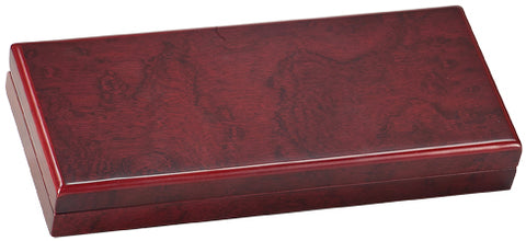 Rosewood Award Box | Desk Box | Matte Finish Rosewood | Custom Engraving | 9 by 4 inches