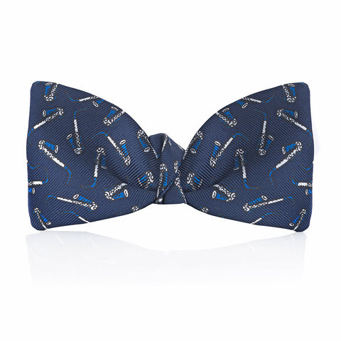 Saxophone 2.5 Inch Thistle Bow Tie | Budd Shirtmakers | Made in England