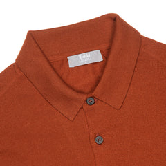 Budd Wool Sports Sweater in Cayenne-Sweater-Sterling-and-Burke